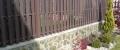 d) Profil, Planke mit Schrägen D-100x25-1800