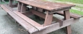 e) Picnic Table