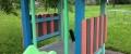 g) Kinder-Pavillon, kleiner mit Sitzgelegenheiten