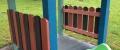 g) Piccolo gazobo per bambini con iposti a sedere