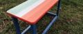 d) Mobili da giardino 1 tavolo e 2 panche