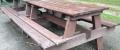 e) Tavolo da picnic