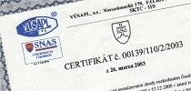 Zertifikate und Berichte