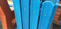 a) Odpadkový kôš štvorcový