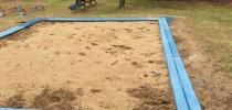 d) Sandbox lining (trim) – exchange, D-130x35-2000
