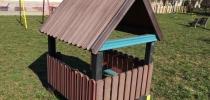 a) Klein Kinderpavillon – die Kindergarten
