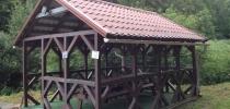 b) Großpavillon 6x4